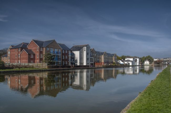 Mary Fletcher | Reflections of the Bude Canal