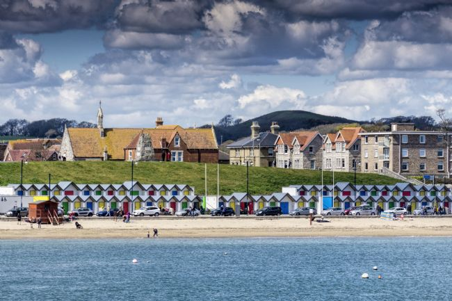 Mary Fletcher | Swanage beach huts