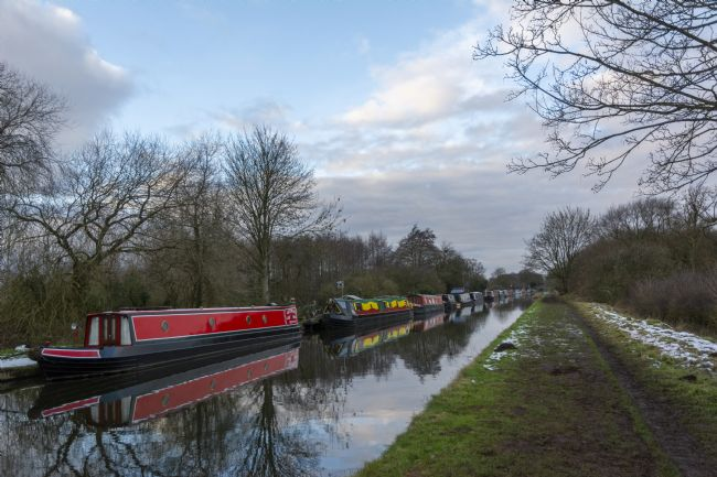 Mary Fletcher | Narrowboats on the Brewood Canal