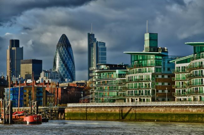 Mary Fletcher | London from the Thames