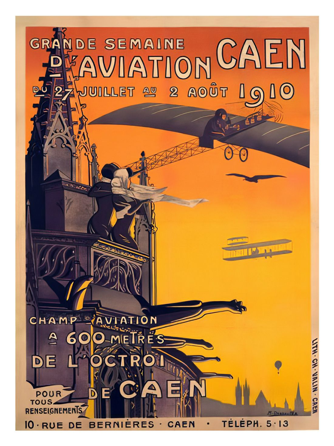 Chris Langley | Aviation Week in Caens, France 1910
