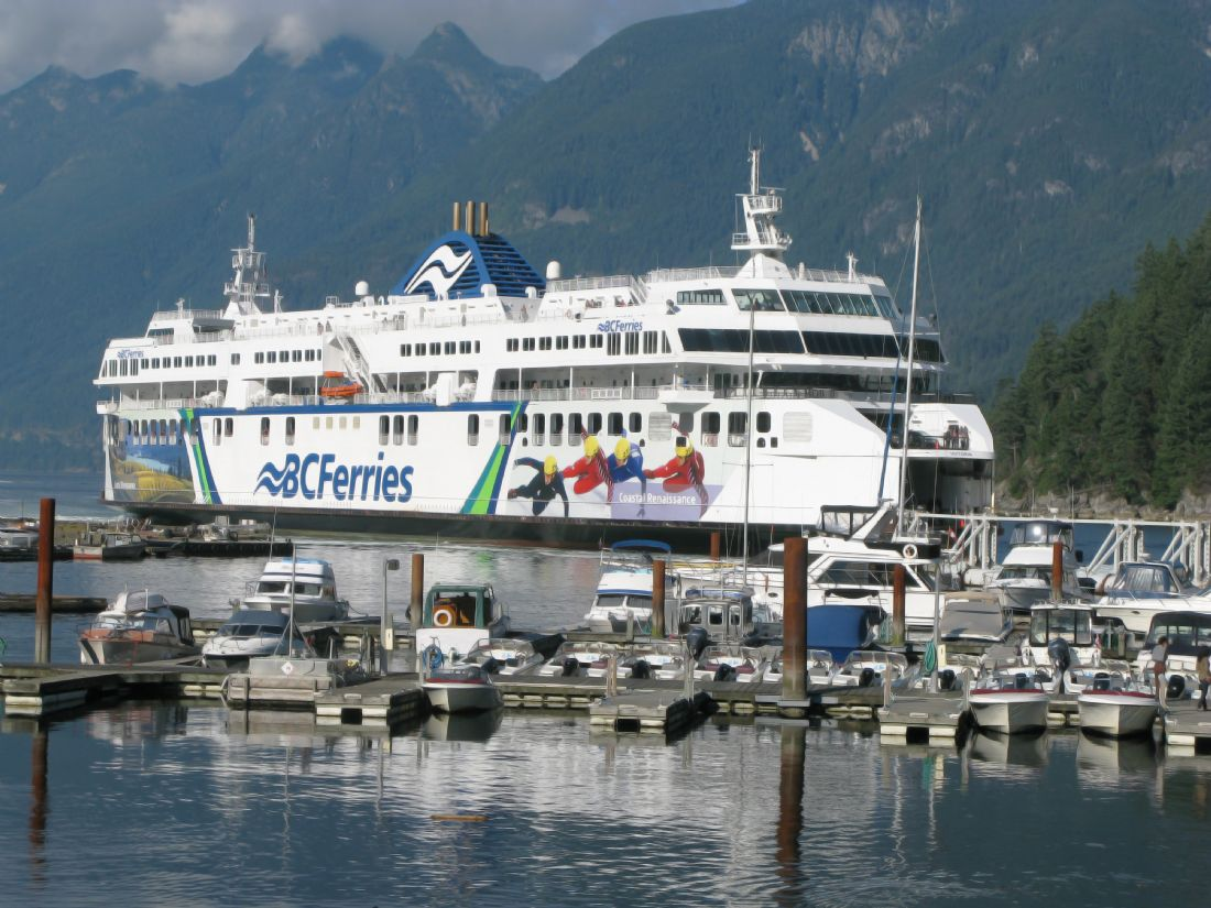 Chris Langley | Ferry at Horseshoe Bay, British Columbia, Canada
