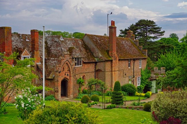 Chris Langley | Almshouses at Ewelme, Oxfordshire