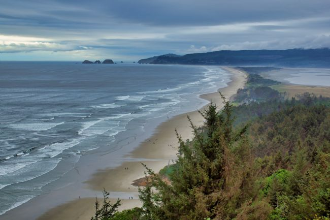 Chris Langley | Cape Lookout Towards Netarts, Oregon