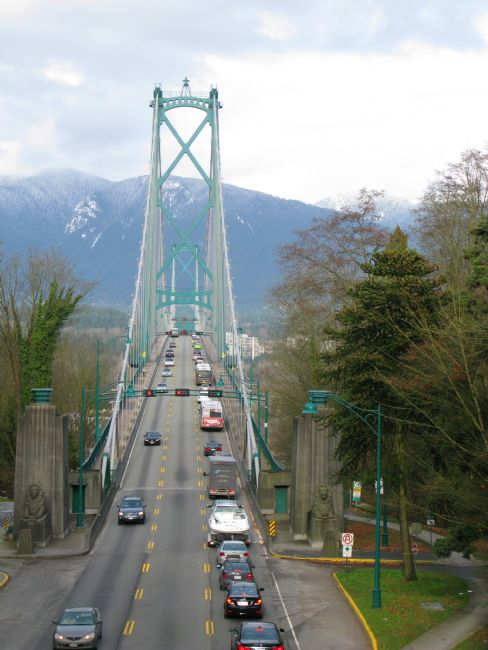 Chris Langley | Lion's Gate Bridge Crossing The First Narrows, Vancouver, Canada