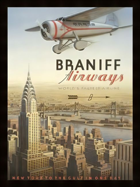 Chris Langley | Braniff, The World's Fastest Airline