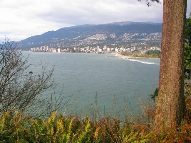 Chris Langley | West Vancouver,  Canada from Prospect Point in Stanley Park