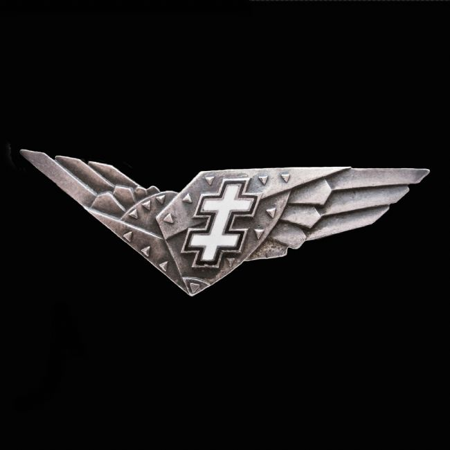 Chris Langley | Lithuanian Air Force Advanced Pilot Badge 1933-1940