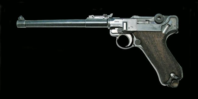 Chris Langley | WW1 Luger 9mm Artillery Pistol