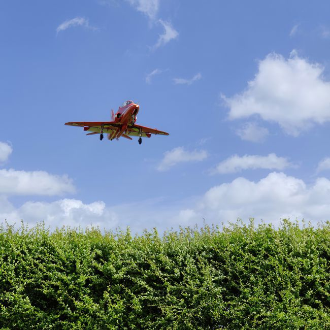 Chris Langley | Red 1 low over the perimeter fence