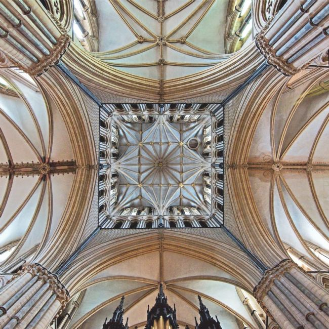 Chris Langley | Lincoln Cathedral Transept, looking east
