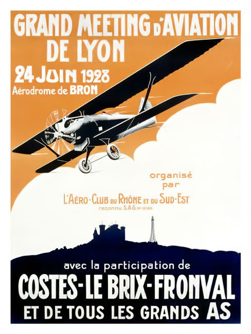 Chris Langley | Aviation Meet, Lyon, France 1928