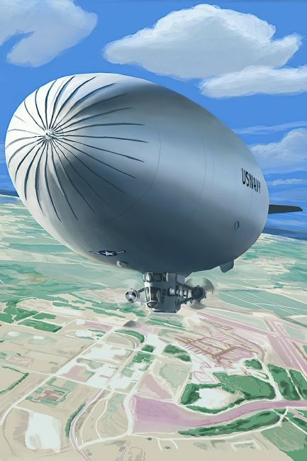 Chris Langley | US Naval Blimp on the Loose
