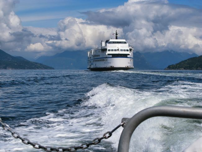 Chris Langley | The Queen of Surrey in Howe Sound, British Columbia