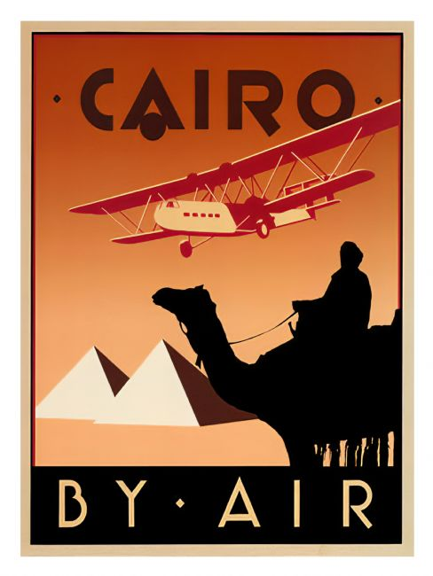 Chris Langley | Cairo by Air 1930's