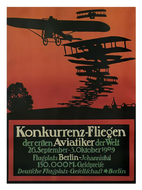 Chris Langley | Flying Competition,  Worlds First Aviators, Berlin 1909