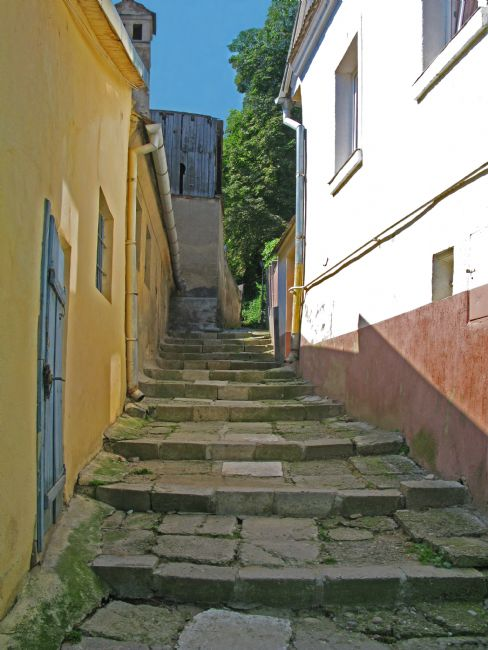 Chris Langley | Pathway in Sighisoara, Romania