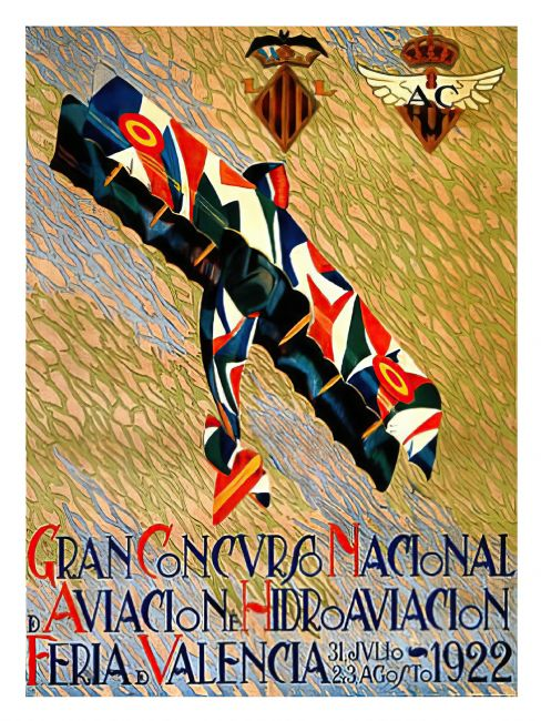 Chris Langley | Nation Concourse of Aviation, Valencia 1922