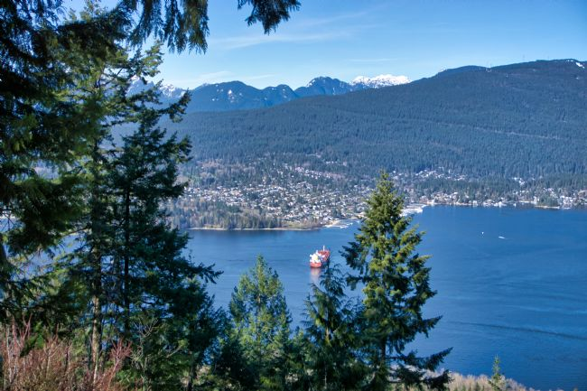 Chris Langley | Cates Reach, Indian Arm, North Vancouver from Burnaby Mountain