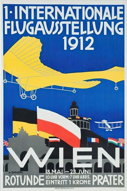 Chris Langley | Vienna's First International Flying Exhibition 1912