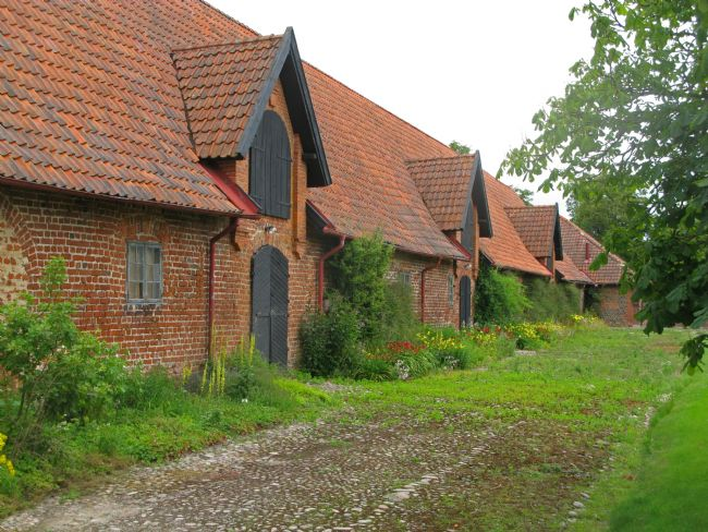 Chris Langley | Farm Buildings at Börringe Kloster, Skåne, Sweden