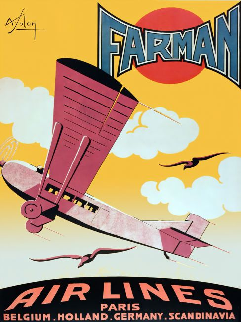 Chris Langley | Farman Airlines of France