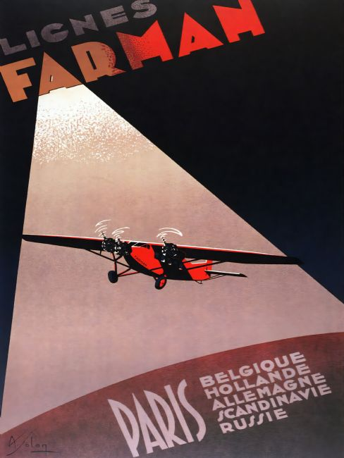 Chris Langley | Farman Airlines - Paris