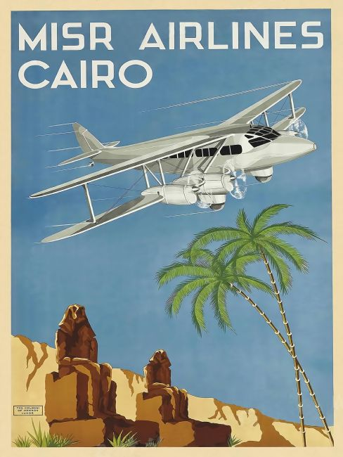 Chris Langley | MISR Airlines, Cairo, Egypt
