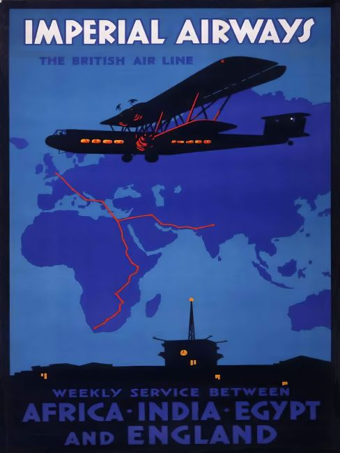 Chris Langley | Imperial Airways to the Empire