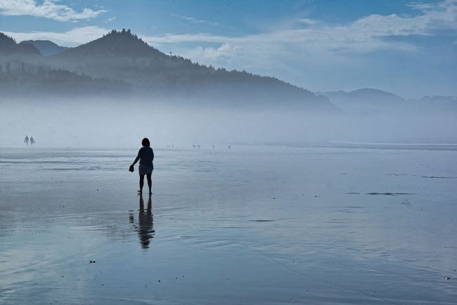 Chris Langley | Strolling in the Sea Mist