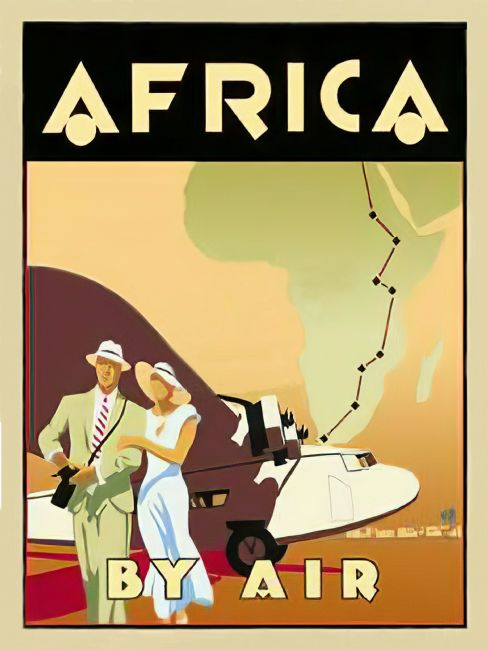 Chris Langley | Africa By Air, c1930
