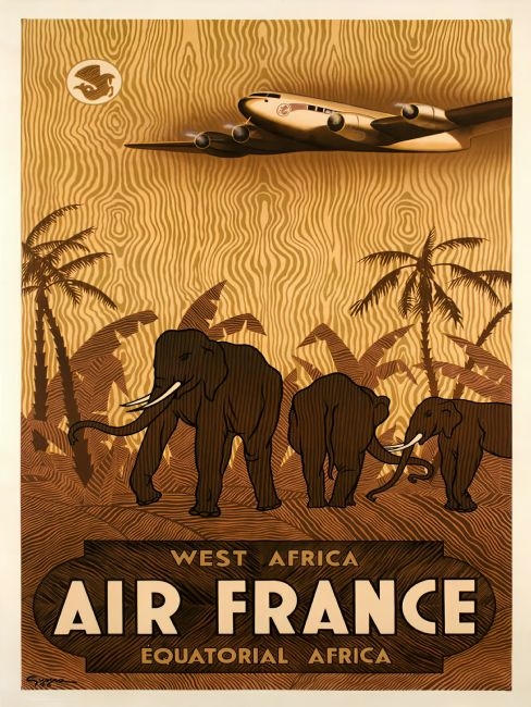Chris Langley | Air France, West and Equatorial Africa
