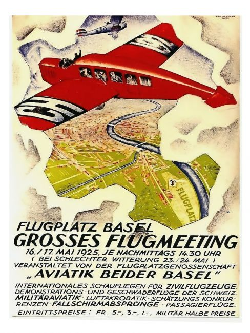 Chris Langley | Air Meet at Basel, Switzerland 1925
