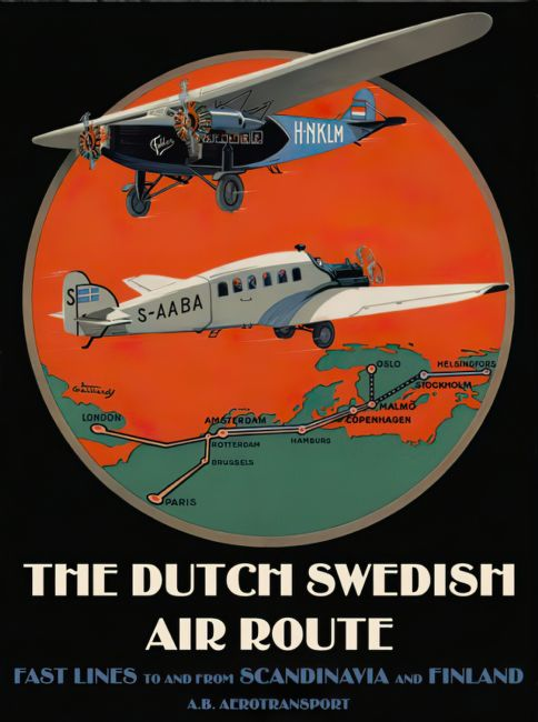 Chris Langley | The Dutch -Swedish Air Route