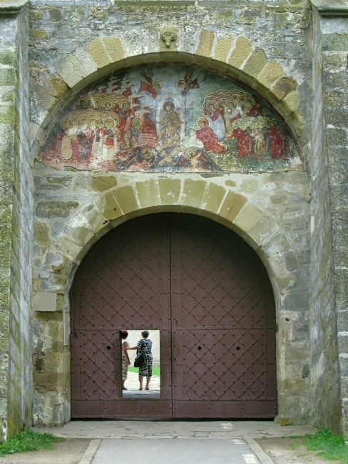 Chris Langley | Entry Portal, Sucevita Monastery, Bucovina, Romania