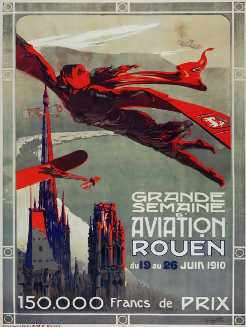 Chris Langley | Aviation Week, Rouen, France 1910