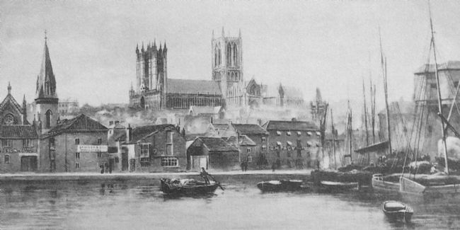 Chris Langley | Lincoln Cathedral from Brayford