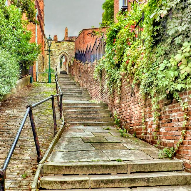 Chris Langley | Greestone Stairs, Lincoln