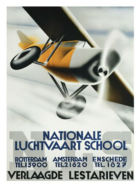 Chris Langley | Dutch National Flying School c1930