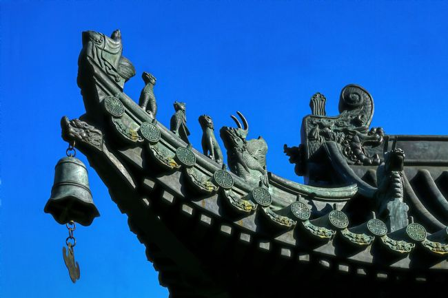 Chris Langley | Roof Cornice - Chinese Buddhist Temple