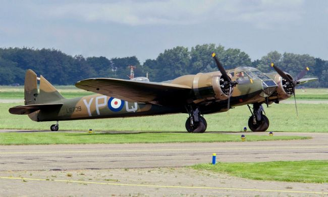 Chris Langley | Bristol Blenheim Mk1