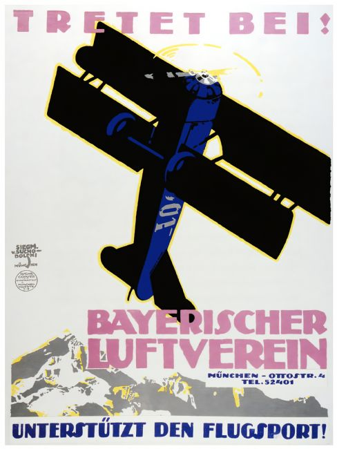 Chris Langley | Bavarian Flying Club, Munich 1918