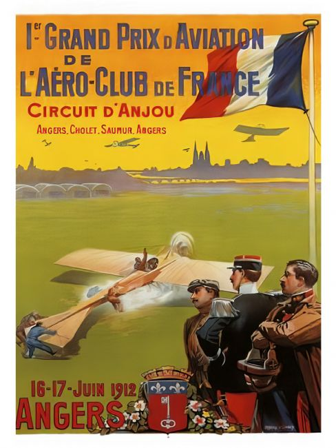Chris Langley | Grand Prix d'Aviation, Angers 1912