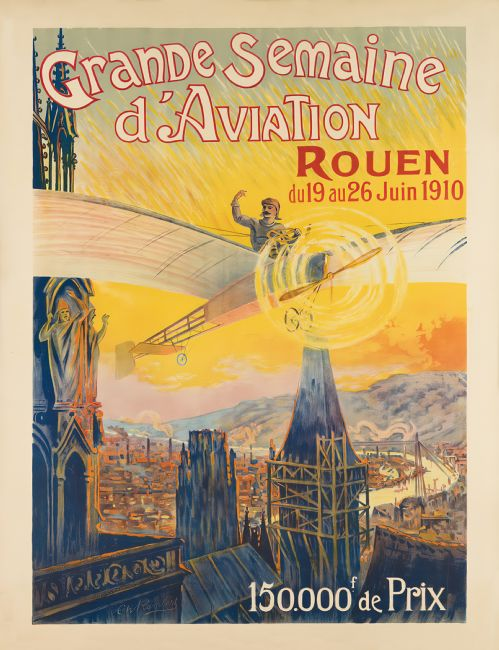 Chris Langley | Rouen Aviation Week, FRance 1910