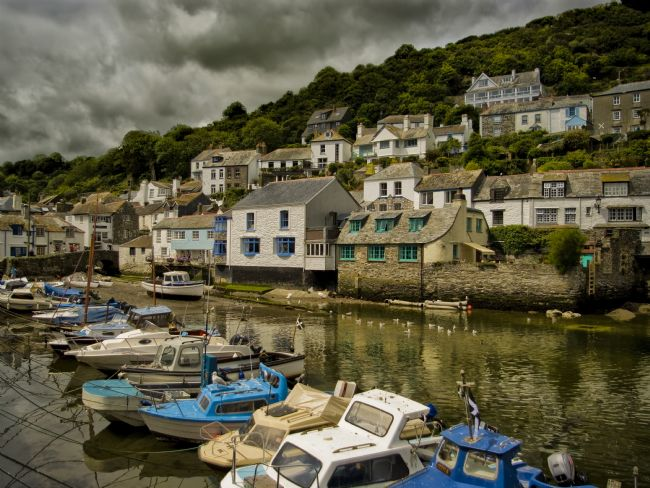 Jay Lethbridge | Moody Sky at Polperro Harbour
