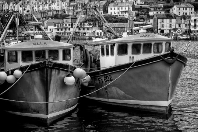 Jay Lethbridge | Trawlers at Polperro Harbour in Cornwall