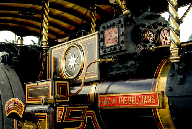Jay Lethbridge | King of the Belgians Steam Engine