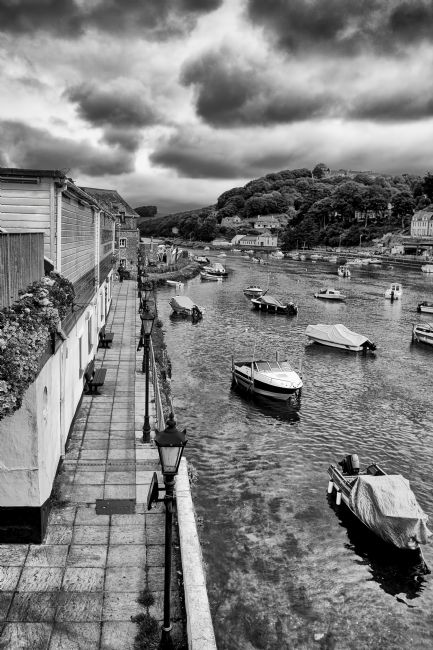 Jay Lethbridge | West Looe River in Black and White