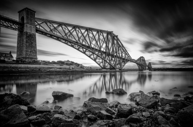 Bryan Hynd | The Bridge Black and White