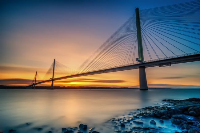 Bryan Hynd | Queensferry Sunset